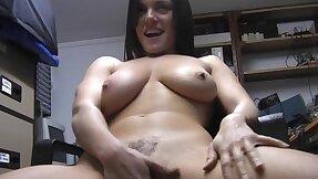 Nothing satisfies Rebekah Dee painless scraping her tight delicious pussy